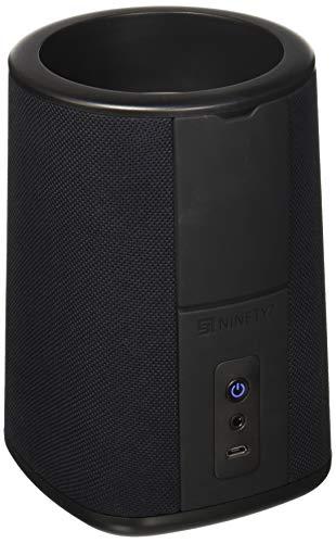Ninety7 97-CBNVX-01 Vaux Cordless Home Lautsprecher und Portable Battery für Amazon Echo Dot (2G) schwarz - 7 Dot