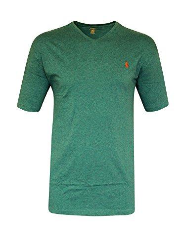 Ralph Lauren - Camiseta - Básico - Clásico - para Hombre Marine Heather c15ca97238b