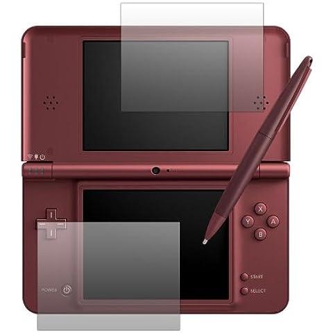 Slabo - Protector de pantalla para Nintendo DSi XL (2 unidades, fabricado en Alemania)