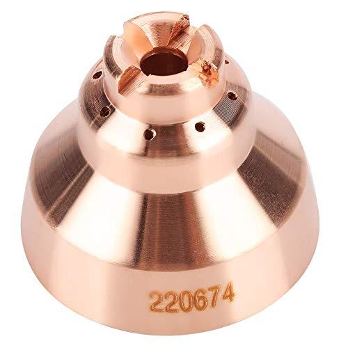 Plasma Shield Cap, 5er Plasmaschneider aus Tellurkupfer für Thermal Dynamics MAX45 Schneidbrenner Verbrauchsmaterial 220674 (Plasmaschneider Thermal Dynamics)