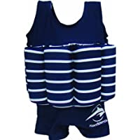 Konfidence Float Suit Badeanzug integrierter Auftrieb blau/weiß 2 - 3 Jahre Schwimmhilfe für optimale Armfreiheit NEU