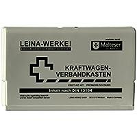 Leina Werke 10053 KFZ-Verbandkasten Leina-Star II, Grau/Schwarz preisvergleich bei billige-tabletten.eu