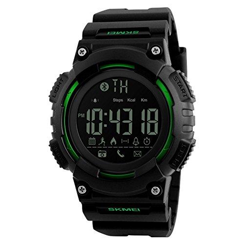 Herren Outdoor-sportarten-digitaluhr,Lingxiang Intelligente Verbindung Bergsteigen Alarm Kalender Watch-B