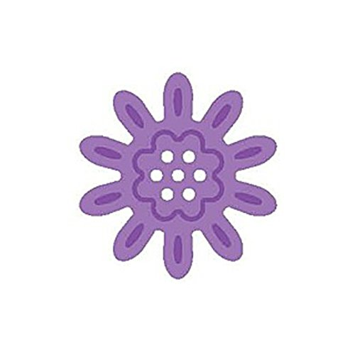 Daisy Silhouette (Daisy Flower Silhouette Embossing Punch - Woodware)