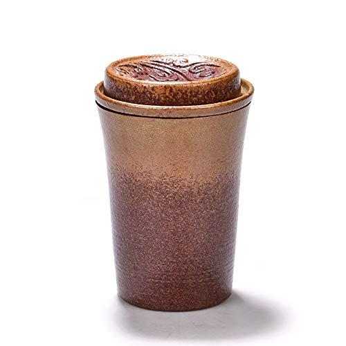 Winpavo Becher Kaffeetassen Tassen Kung Fu Teetasse Keramik Gürtel Filter Tee-Set Steinzeug...