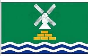 Königsbanner Hochformatflagge Nortorf - 80 x 200cm - Flagge und Fahne