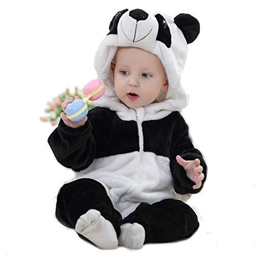 PICCOLI MONELLI Pyjamas pigiamone Bear Panda Kind Kind ohne Beine in Stapel geeignet Even as Custom o Tutone hot di Karneval TG 70 cm
