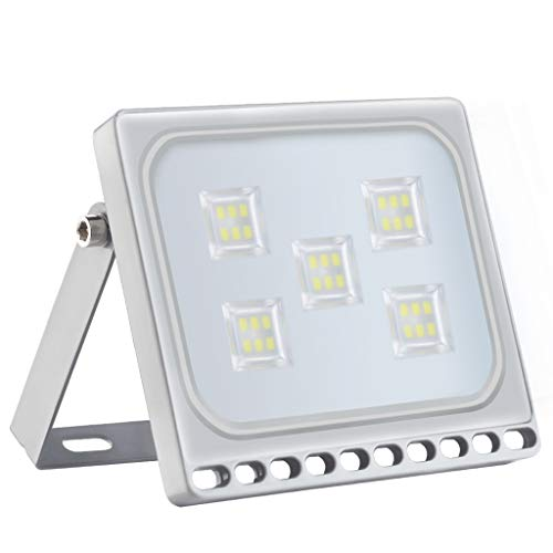 10W-500W Flutlicht im Freien, IP65 wasserdichtes Flutlicht, Warmweiß (3000 K) Außenflutlicht Wandleuchte, quadratisch Ultrabook Flutlicht, große superhelle Flutlicht ist sehr wasserdicht