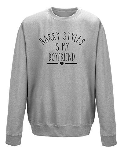 MazClothing Harry Styles Is My Boyfriend Unisex Sweatshirt Jumper