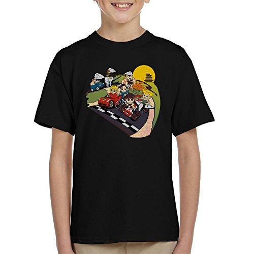 Preisvergleich Produktbild Super Fighting Kart Street Fighter Mario Kid's T-Shirt
