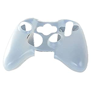 Feicuan Handle Silicone Case Cover Antiskid Shockproof für XBOX360 Color White