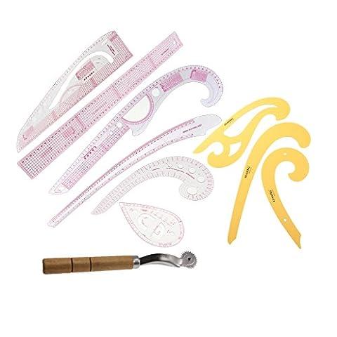 MagiDeal Règles Courbe Pour Couture Loisirs Créatif Artisanat Bricolage Fournitures