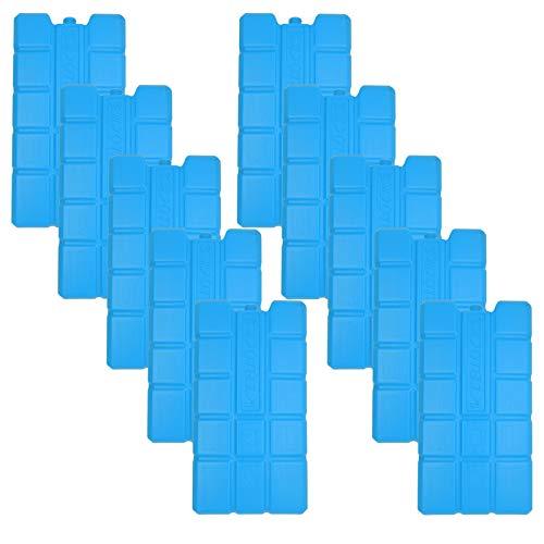 NEMT 10 x Kühlakku 750 ml Kühlelemente für die Kühltasche oder Kühlbox Kühlakku