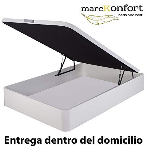 Marckonfort Canapé abatible 90X200 Gran Capacidad