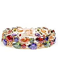 Yellow Chimes Bangle for Women (Multi-Colour)(YCBR-009500-MC)