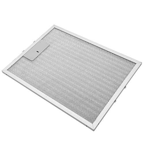 vhbw Filter Metallfettfilter, Dauerfilter 32,8 x 24,7 x 0,9 cm passend für Alno AEF3800X 94264094500, AEF3810X 94264094700 Dunstabzugshaube Metall
