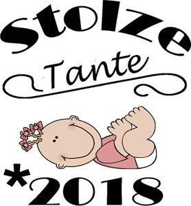 Mister Merchandise Herren Men T-Shirt Stolze Tante - 2018 Tee Shirt bedruckt Navy
