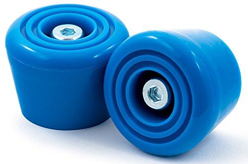 Rio Roller Stoppers Bremse, Unisex Erwachsene Einheitsgröße Blau