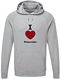 The Grand Coaster Company I Love Pinocchio Hooded Sweatshirt