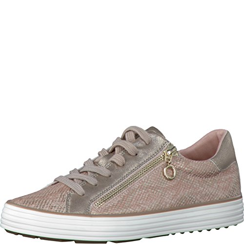 s.Oliver 23615, Sneakers Basses Femme ROSE METALLIC