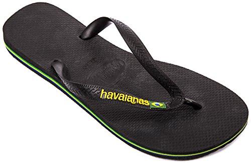 Havaianas Brasil Logo Black black Size: 3/4