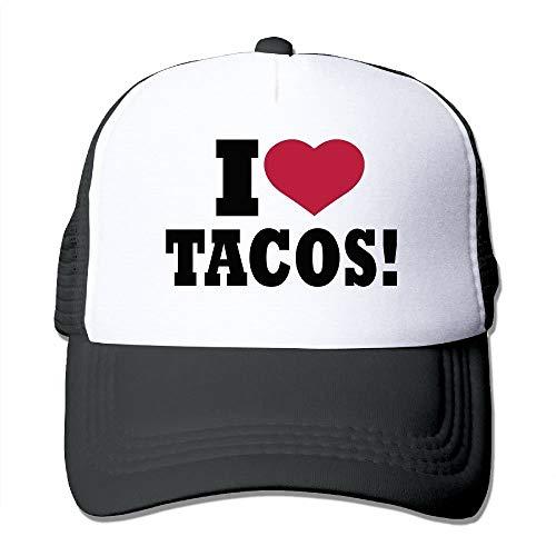 Ccsoixu Adut I Love Tacos Snapback Baseball Cap Outdoor