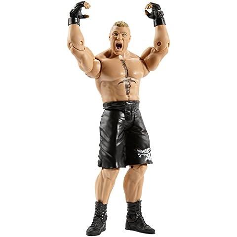 WWE - Figuras básica Brock Lesnar (Mattel CJB52)