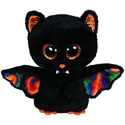 Beanie Boos 41108 - Peluche Murciélago, 8 x 5 x 15 cm (41108) - Peluche Murciélago Scarem (15cm), Juguete peluche Primera infancia A partir de 4 años