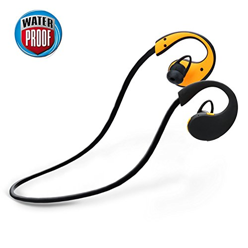 Bluetooth Earphones, Levin Bluetooth 4.1 Waterproof Sports Headphones with Built-in Mic for...