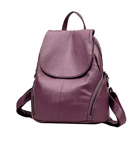 Sac à dos Ladies Casual Mommy Casual Bag de voyage en cuir PU