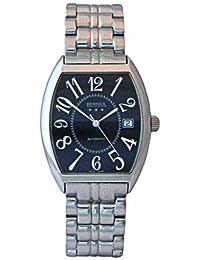 Bernex Swiss Made Gents Automatic Stainless Steel, Black Dial Bracelet Wrist Watch