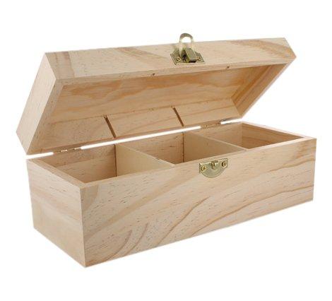 La Fourmi 223 x 93 x 80 mm Teabag Box with 3 Sections