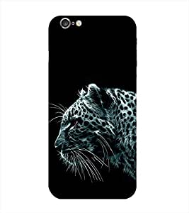 Tiger Printed Back Cover for Iphone 6