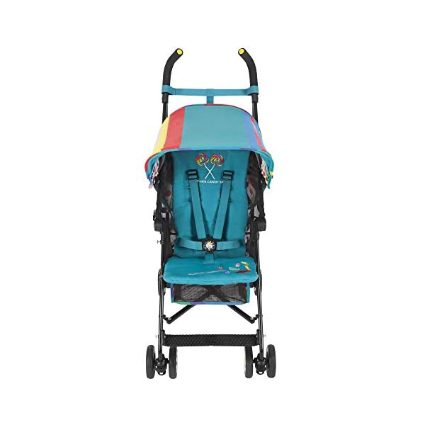Maclaren Dylan's Candy Bar Volo Stroller - super lightweight, compact Maclaren Basic weight of 3.3kg/7.2lb; ideal for children 6 months and up to 25kg/55lb Maclaren is the only brand to offer a sovereign lifetime warranty Extendable upf 50+ sun canopy and built-in sun visor 19