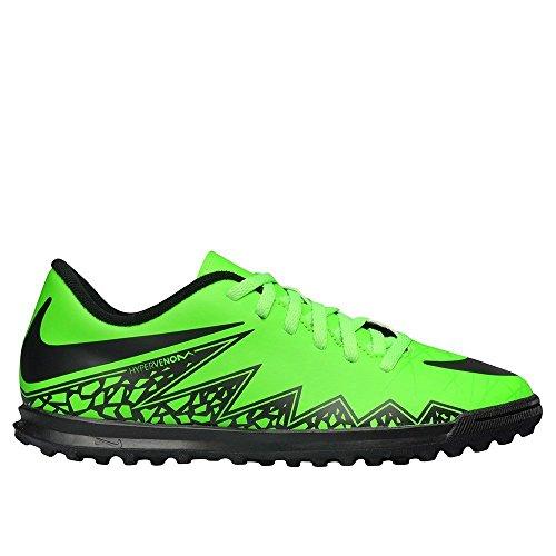 Nike Fußballschuhe JR Hypervenom Phade II TF Unisex green strike-black-black (749912-307)