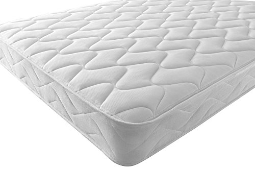 Starlight Beds – Double Mattress Sprung Memory Foam Mattress. Double Mattress With Spring and a Layer of Memory Foam and A Deluxe Knitted Onion Micro Quilted Stretch Fabric. Fast Delivery (Double Mattress)