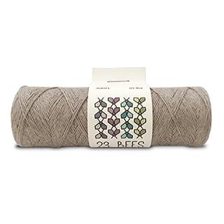 100% Organic Hemp Cord, Twine, String | Jewelry, Beading, Macrame, Crafts | 23 Bees (90m x 10 lb.)