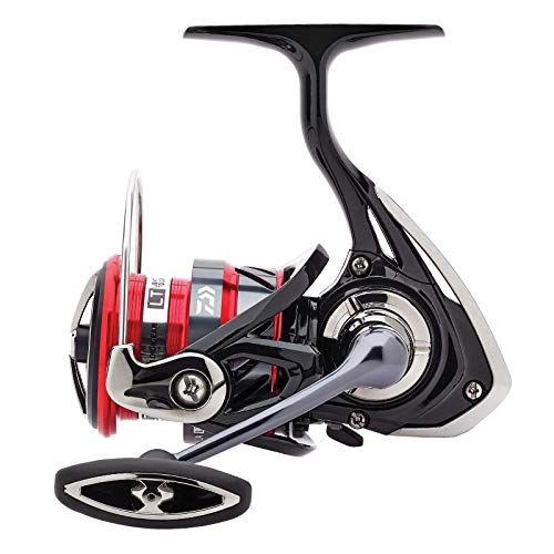 Daiwa Ninja LT 3000C, Spinning Angelrolle mit Frontbremse, Compact Body, 10219-300