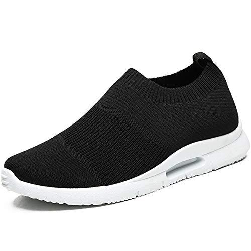 Damyuan Hombres Zapatillas de Deporte Ligero Superficie Neta Transpirable Zapatos de Trabajo Fitness...