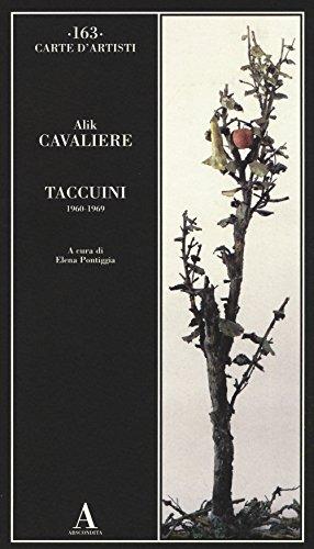 Taccuini 1960-1969 (Carte d'artisti)