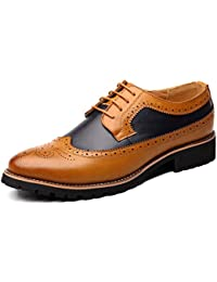 Zapatos elegantes del vestido elegante formal del cordón de Derby que casan los zapatos del trabajo del negocio...