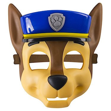 Paw Patrol – Pup Mask – Chase – Maske für (Kostüme Patrol Paw Skye)