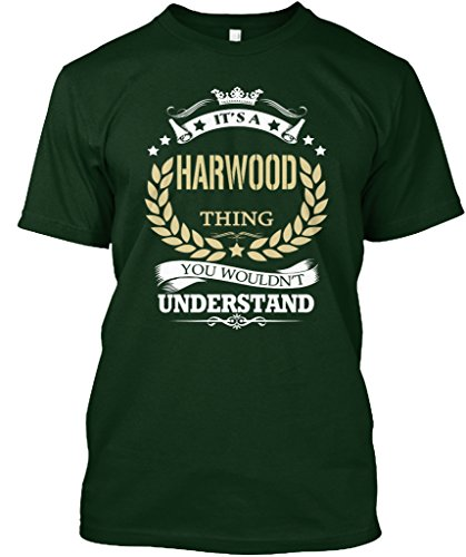teespring Novelty Slogan T-Shirt - It's A Harwood Thing You Wouldn't Understand