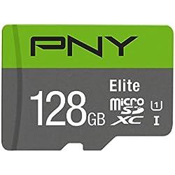 PNY MicroSDXC Elite Performance Speicherkarte 128GB Class 10 UHS-1 U1