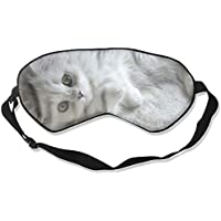 Eye Mask Eyeshade White Kitten Sleeping Mask Blindfold Eyepatch Adjustable Head Strap preisvergleich bei billige-tabletten.eu