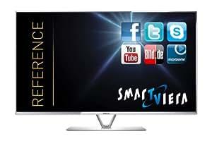 Panasonic TX-L50DTW60 126cm (50 Zoll) Smart VIERA 3D-LED-Backlight-Fernseher (Full HD, 1600Hz bls, Twin HD Triple Tuner DVB-T/C/S2, 2x CI+, WLAN, USB-Recording, HbbTV)
