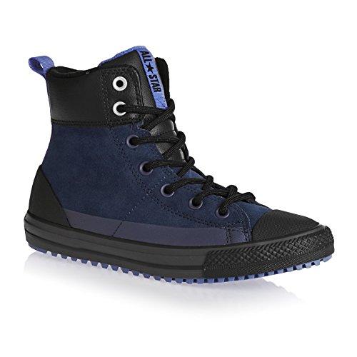 Juventude Mandril Intempéries Asfalto All Boots De De Ankle Couro Star Preto Inverso Taylor wFPrZ7qFX