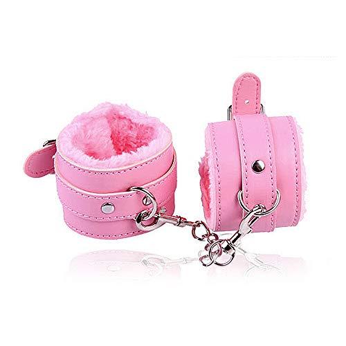 Peluche di alta qualità con chiusura in pelle, orologio di lusso, bracciale di lusso, bracciale perfetto (rosa) - B36