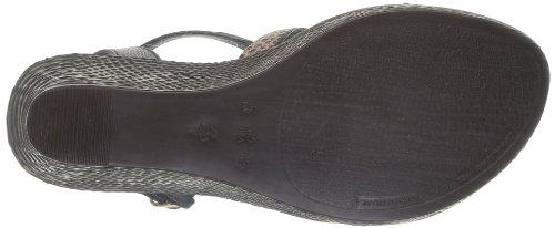 Grendha Glam Plat Sandal Fem, Damen Sandalen Schwarz - Noir (22731)