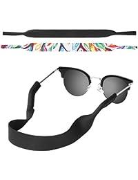 MoKo Correa de Gafas de Sol, [2 Paquetes] Cómodo y Suave Cuerda de